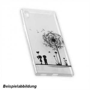 TPU Hülle Tasche mit Druck für Sony Xperia XZ1 Compact -  Design: Love