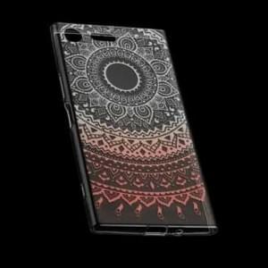 TPU Hülle Tasche mit Druck für Sony Xperia XZ1 Compact - Design: Mandala