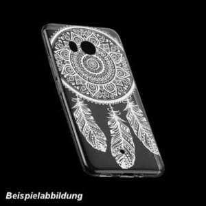 TPU Schutzhülle Case Tasche mit Druck für Huawei Mate 10 Lite - Design: Feder