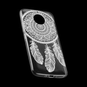 TPU Hülle Case Tasche mit Druck für Motorola Moto G5S Plus - Design: Feder