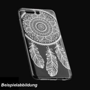 TPU Hülle Case Tasche mit Druck für Huawei Honor View 10 - Design: Feder