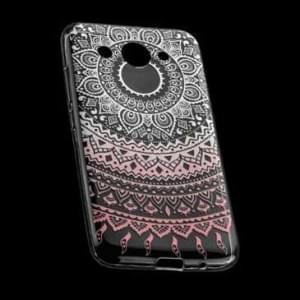 TPU Hülle Tasche für Huawei Y7 mit Druck - Design: Mandala
