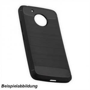 Hybrid TPU Case Handyhülle im Carbon Look für Motorola Moto G5S Plus
