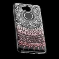 TPU Hülle Tasche für Huawei Y5 (2017), Y6 (2017) mit Druck - Design: Mandala