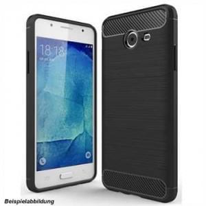 Hybrid TPU Case Handyhülle im Carbon Look für Samsung Galaxy Note 8