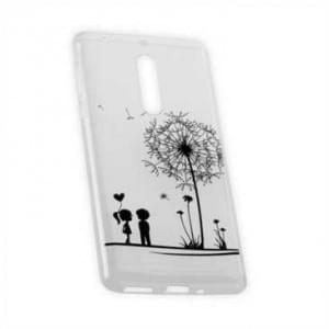 TPU Hülle Case Tasche für Nokia 5 mit Druck - Design: Love