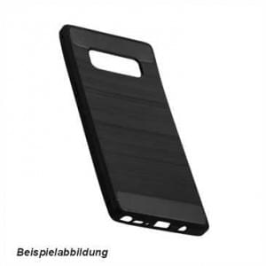 Hybrid TPU Case Handyhülle im Carbon Look für Samsung Galaxy A8 Plus (2018)