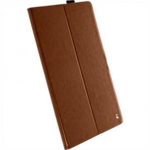 Krusell Tablet Ekerö Ledertasche PU Leder für Apple iPad Pro 12.9 - Cognac