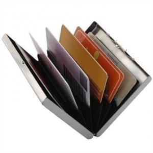 XiRRiX RFID Alumium Schutzhülle - für bis zu 6 Kreditkarten etc.