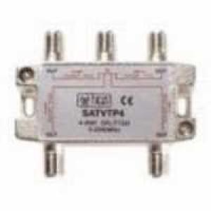 SAT-Verteiler 4-fach 5-2250 MHz