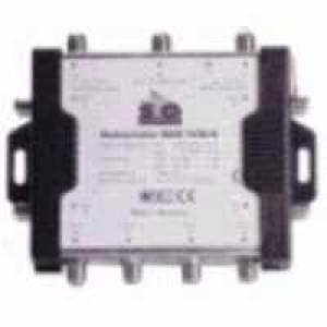 Multischalter 3x8 mit DC-Buchse für Steckernetzteil