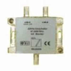 Umschalter für LNBs mit Blocker - SAT-22kHz - 3 x F-Buchse