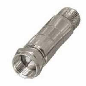 Dämpfungsglied F-Stecker auf F-Kupplung mit DC-Durchgang 3 dB