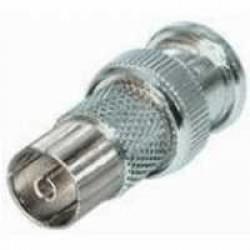 Adapter BNC-Stecker auf Koax-Kupplung 9,5 mm