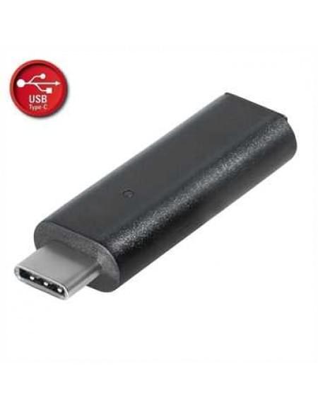 USB Adapter - USB 3.1 Typ C Stecker auf Micro USB B Buchse - Farbe: Schwarz