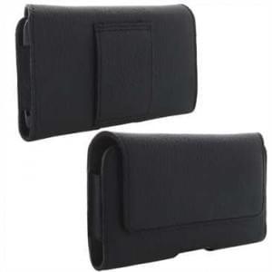 XiRRiX Echt Leder Smartphone Horizontaltasche - Innenmaß: 144 x 71 x 10 mm (2XL)