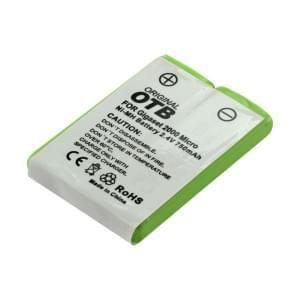 Ersatzakku für DeTeWe eurix Style 260 / Siemens Gigaset 2000 L / 2011 pocket / 2060 / Gigaset 3000 / 3010