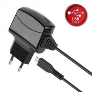 Ladegerät / Netzteil mit USB Typ C - Eingang: 100-240V AC - Ausgang: 5V DC 3A - Länge: 1,6m