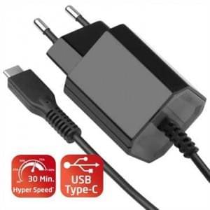 Netzteil USB Typ C 1.2m Power Delivery 100-240V - 5V 3A / 9V 2A 18 Watt