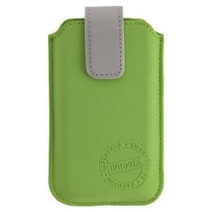 IPHORIA Premium Tasche FUN TREND CASE Größe XXL - Light Green