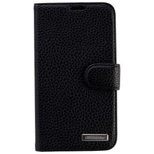 COMMANDER Premium Handytasche BOOK CASE ELITE für Samsung Galaxy S5 - Leather Black