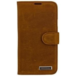 COMMANDER Premium Handytasche BOOK CASE VINTAGE für Samsung Galaxy S5