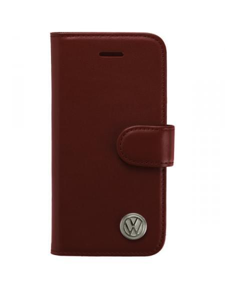 Volkswagen BOOK CASE für Apple iPhone 5 / 5S / SE - Salsa Red