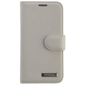 COMMANDER Premium Tasche BOOK CASE ELITE für Samsung Galaxy S5 Mini - Leather White