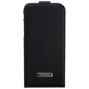 COMMANDER Premium Handytasche DeLuxe Vertikal Case für Apple iPhone 6 / 6S - Leather Black
