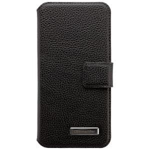 COMMANDER Premium Handytasche BOOK CASE für Apple iPhone 6 / 6S - Leather Black