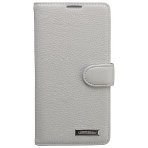 COMMANDER Premium Tasche BOOK CASE ELITE für Sony Xperia Z2 - Leather White