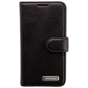 COMMANDER Premium Tasche BOOK CASE ELITE für Samsung Galaxy A3 - Leather Black
