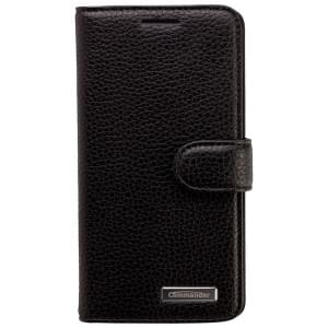 COMMANDER Premium Tasche BOOK CASE ELITE für Samsung Galaxy A5 - Leather Black