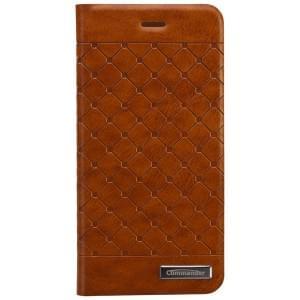 COMMANDER Premium Tasche BOOK CASE SQUARE für Apple iPhone 6 / 6S