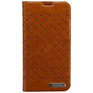 COMMANDER Premium Handytasche BOOK CASE SQUARE für Samsung Galaxy S5
