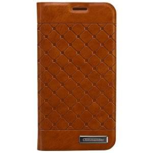 COMMANDER Premium Tasche BOOK CASE SQUARE für Samsung Galaxy S5 Mini