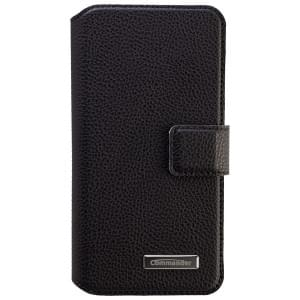 COMMANDER Premium Tasche BOOK CASE ELITE UNI DeLuxe M4.9 - Leather Black