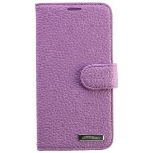 COMMANDER Premium Tasche BOOK CASE ELITE für Samsung Galaxy S6 - Leather Light Purple