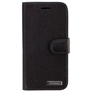 COMMANDER Premium Tasche BOOK CASE ELITE für HTC One (M9) - Leather Black