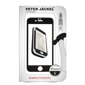 FULL DISPLAY HD Glass Protector für Apple iPhone 6 Black
