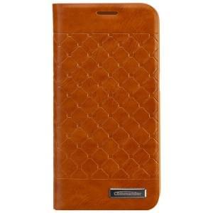 COMMANDER Premium Tasche BOOK CASE SQUARE für Samsung Galaxy S6