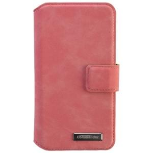 COMMANDER Premium Tasche BOOK CASE ELITE UNI DeLuxe M4.3 - Nubuk Pink