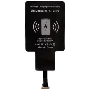 PETER JÄCKEL Qi Wireless Charger Quick Adapt UNI für Micro-USB