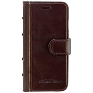 COMMANDER Premium Tasche BOOK CASE ELITE Antique für Apple iPhone 6 / 6S