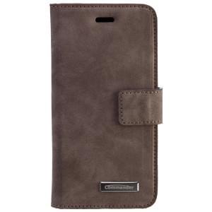 COMMANDER Premium Tasche Book & Cover für Apple iPhone 6 / 6S - Nubuk Gray