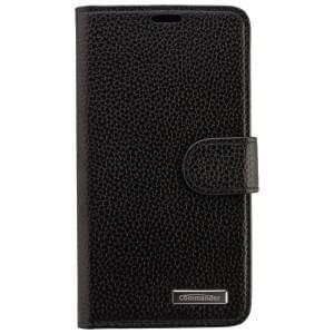 COMMANDER Premium Tasche BOOK CASE ELITE für Microsoft Lumia 640 - Leather Black