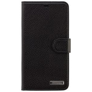 COMMANDER Premium Handytasche BOOK CASE ELITE für Microsoft Lumia 640 XL - Leather Black