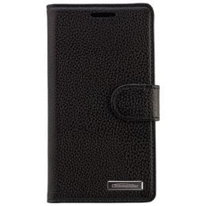 COMMANDER Premium Tasche BOOK CASE ELITE für Nokia Lumia 930 - Leather Black