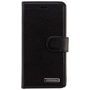 COMMANDER Premium Tasche BOOK CASE ELITE für Huawei P8 lite - Leather Black