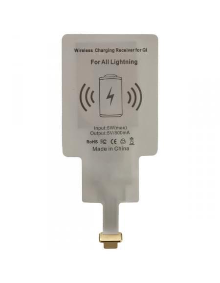 PETER JÄCKEL Qi Wireless Charger Quick Adapt UNI für Apple iPhone 5 / 5S / 6 / 6 Plus